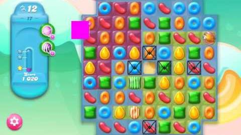 Candy Crush Jelly Saga Level 17 NEW (1st revision)