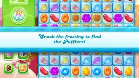 Candy Crush Jelly Saga Level 886 (3 star, No boosters)