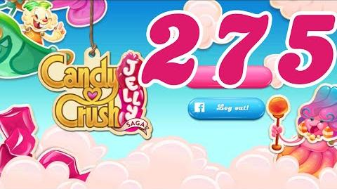 Candy Crush Jelly Saga Level 275 No Boosters