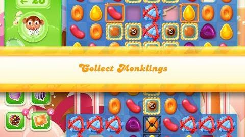 Candy Crush Jelly Saga Level 888 (3 star, No boosters)
