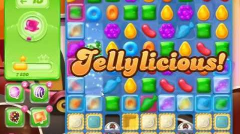 Video candy crush jelly saga level 383 no boosters 0 for Candy crush fish