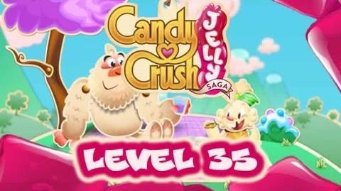 Candy Crush Jelly Saga Level 35