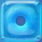 Cyan in Blue Jelly cube