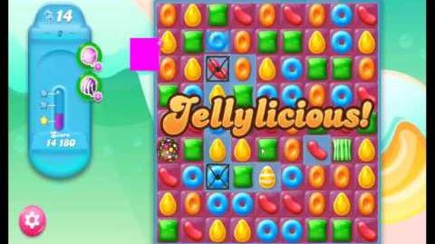 Candy Crush Jelly Saga Level 2 NEW (1st revision)