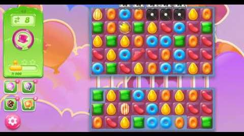 Candy Crush Jelly Saga Level 43 Hard Level NO BOOSTER