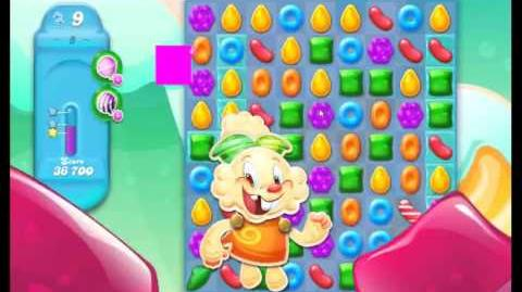 Candy Crush Jelly Saga Level 8 NEW (1st revision)