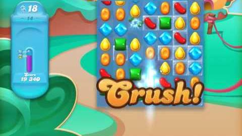 Candy Crush Jelly Saga Level 14