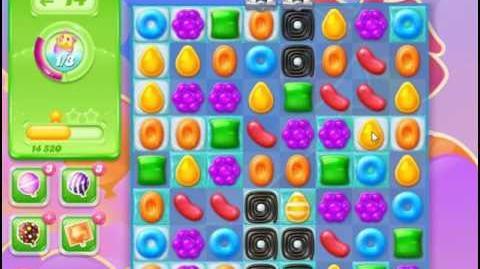 Candy Crush Jelly Saga Level 55 Hard Level NO BOOSTER