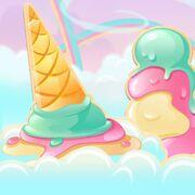 Ice Cream Archipelago background