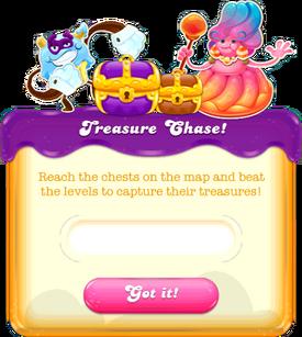 Treasure Chase message