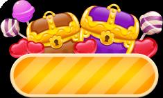 Treasure chest map icon