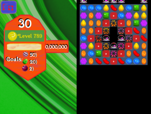 Super Saga Level 789