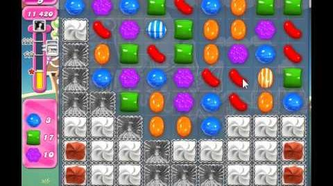 Candy Crush Saga Level 141 - 3 Star - no boosters