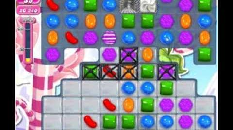 Candy Crush Saga Level 496 2 stars NO BOOSTERS