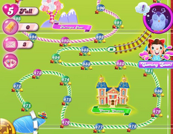 Cherry Chateau Map Mobile