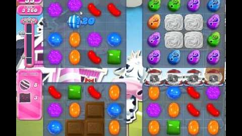 Candy Crush Saga Level 243 - 3 Star - no boosters