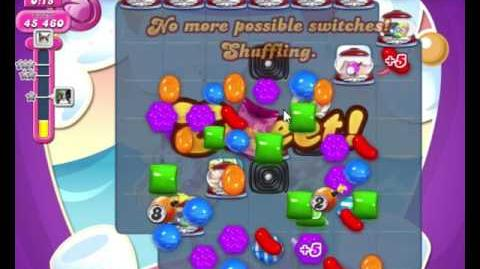 Candy Crush Saga LEVEL 2266 NO BOOSTERS (higher target score)