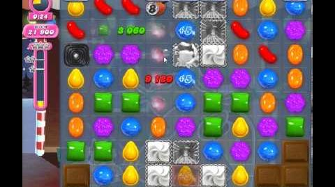 Candy Crush Saga Level 267 - 1 Star - no boosters