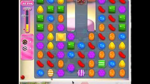 Candy Crush Saga Level 208 4 colorbombs 10 striped NEW