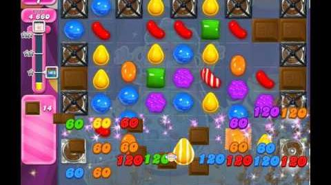 Candy Crush Saga Level 1989 ( New with 20 Moves and Locked Choco Machines ) No Boosters 3 Stars