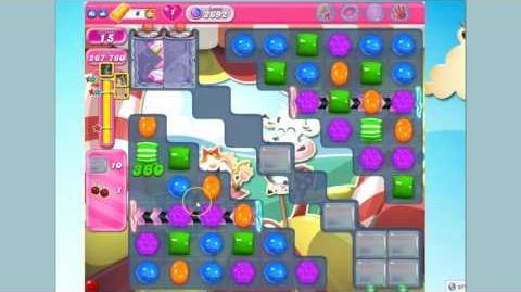 Candy Crush Saga Level 2692 Flash version