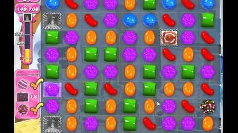 Candy crush saga level 821 cleared no powerup used