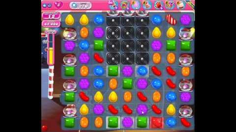 Candy Crush Saga Level 270 - 1 Star - no boosters