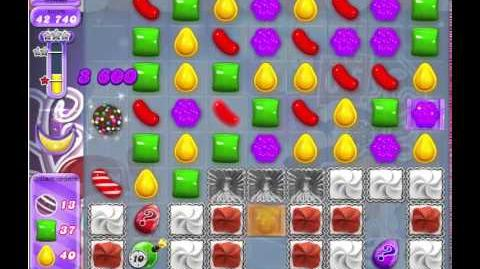 Candy Crush Saga (Dreamworld) level 345 - 3 stars, no boosters used!