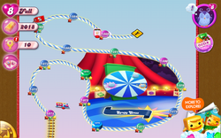 Syrupy Circus Map Mobile
