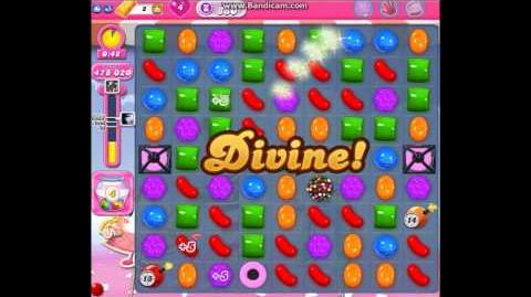 Candy Crush Saga Level 880 ★★★ No Boosters - 1,296,840 pts (Highest one-star target score)