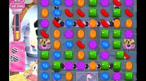 Candy Crush Saga Level 824 (No booster, 3 Stars)