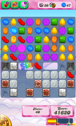 Reality level 438 three candy glitch