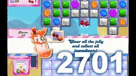 Candy Crush Saga Level 2701 (No boosters)
