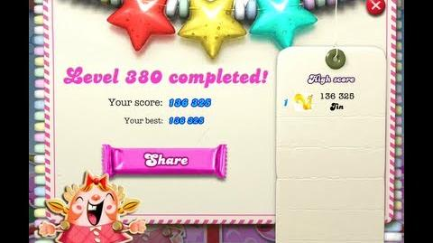 Candy Crush Saga Level 380