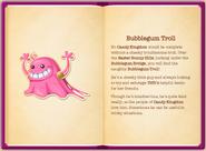 Bubblegum Troll's particulars