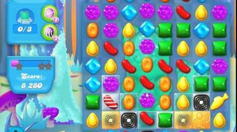Candy Crush Soda Saga Level 142 (27 moves, 3 Stars)