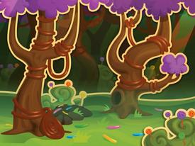 Lollipop Meadow background