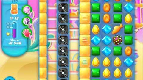 Candy Crush Soda Saga Level 175 (4th version, 3 Stars)