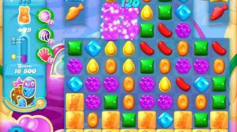 Candy Crush Soda Saga Level 340 (6th version)