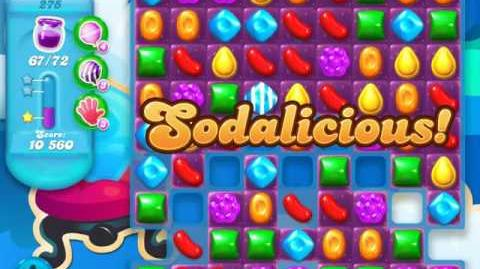 Candy Crush Soda Saga Level 275 (3rd version, 3 Stars)