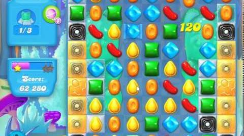 Candy Crush Soda Saga Level 145 (4th version, 3 Stars)