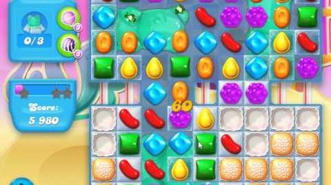 Candy Crush Soda Saga Level 170 (with straws, 3 Stars)