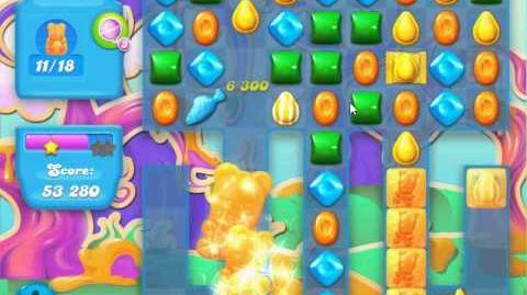 Candy Crush Soda Saga Level 84 (nerfed,3 Stars)