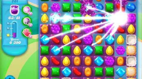 Candy Crush Soda Saga Level 261 (4th version, 3 Stars)