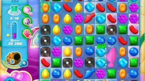Candy Crush Soda Saga Level 333 (4th version, 3 Stars)