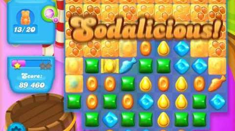Candy Crush Soda Saga Level 130 (2nd buffed)