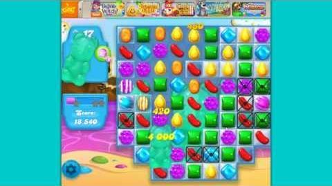 Candy Crush Soda Saga level 18