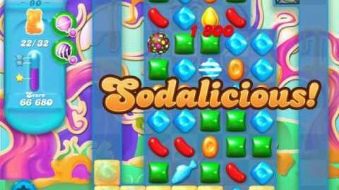 Candy Crush Soda Saga Level 90 (2nd nerfed)
