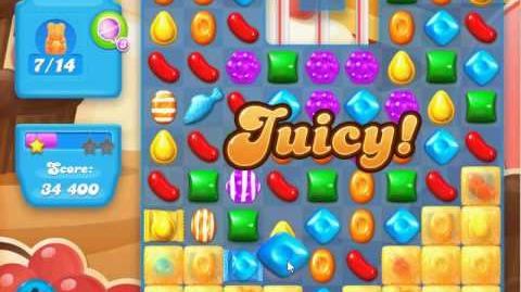 Candy Crush Soda Saga Level 104