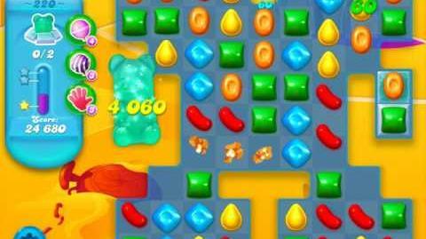 Candy Crush Soda Saga Level 220 (5th version)